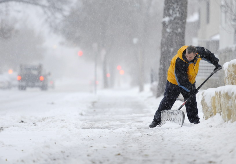 Atak zimy w Minneapolis /PAP/EPA