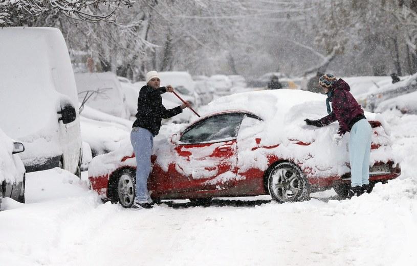 Atak zimy w Rumunii / zdj. ilustracyjne /PAP/EPA