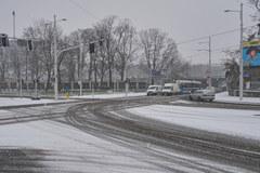 Atak zimy we Wrocławiu