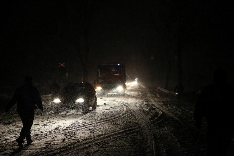 Atak zimy /Michal Adamowski/REPORTER /East News