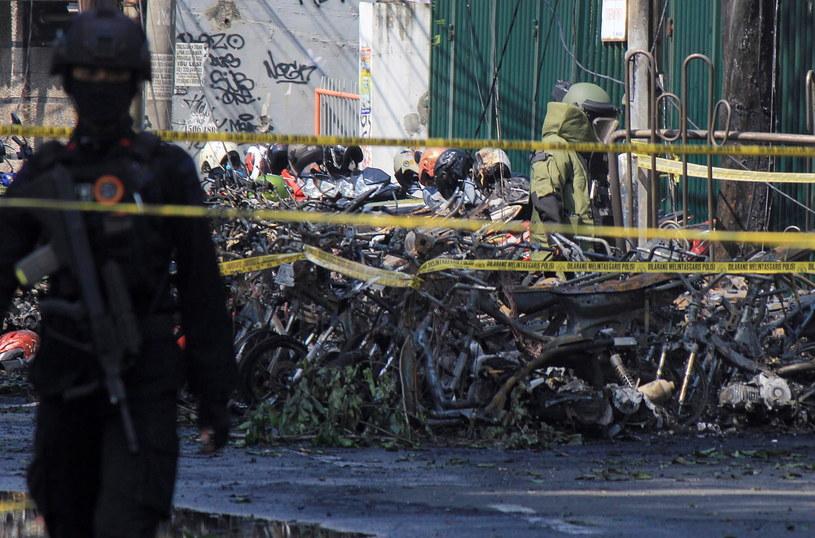 Ataki na kościoły w Indonezji / STR   /PAP/EPA
