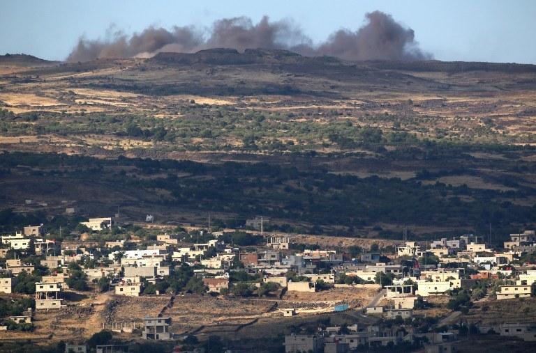 Ataki rakietowe miały miejsce na Wzgórzach Golan, zdj. ilustracyjne /JALAA MAREY / AFP /AFP