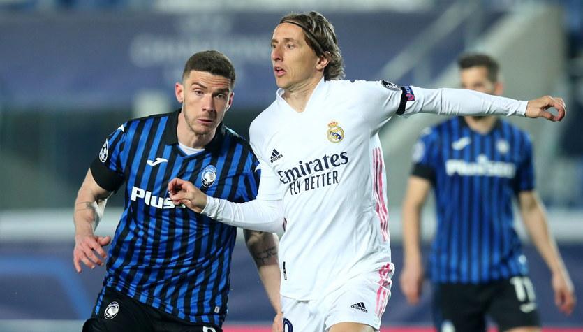 Atalanta Bergamo - Real Madryt 0-1 w 1/8 finału Ligi Mistrzów