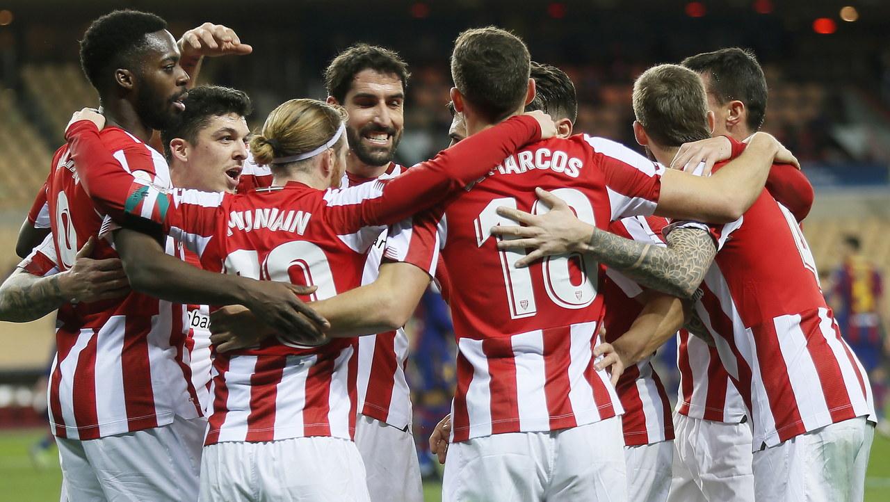 Athletic Bilbao pokonał Barcelonę w finale Superpucharu Hiszpanii. Skandaliczne zachowanie Messiego