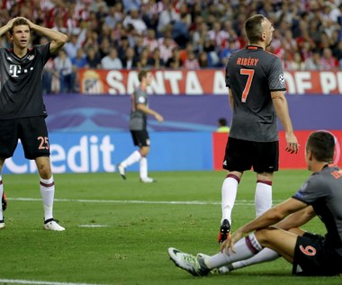 Atletico Madryt - Bayern Monachium 1-0 w 2. kolejce Ligi Mistrzów