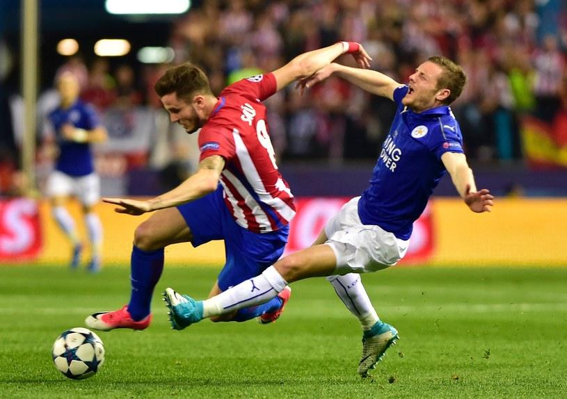 Atletico wygrało pierwsze spotkanie z Leicester City 1-0. Jak będzie w rewanżu? /AFP