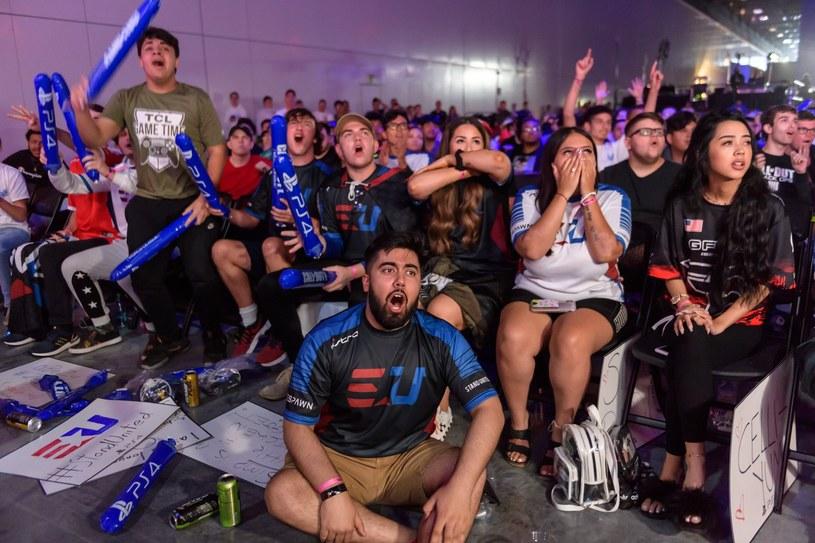 Atmosfera podczas ostatnich finałów ligi Call of Duty /AFP