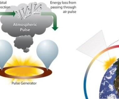 Atmosferyczna eksplozja sposobem na kosmiczne śmieci