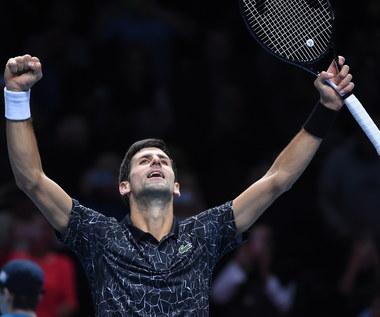 ATP Finals: Djokovic lepszy od Isnera, Kubot i Melo przegrali