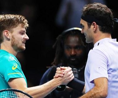 ATP Finals: Porażka Federera, Goffin w finale