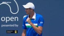 ATP Miami. Hubert Hurkacz - Denis Shapovalov. Skrót. Wideo