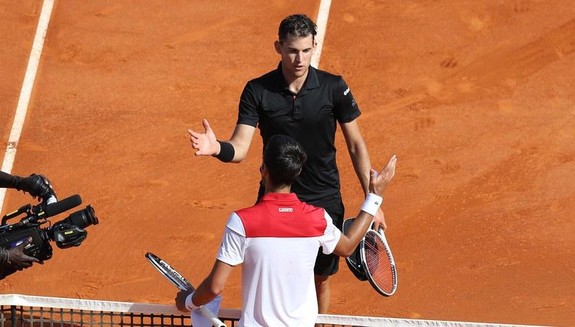 ATP Monte Carlo. Thiem wyeliminował Djokovicia