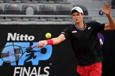 ATP w Halle: Awans Hurkacza do drugiej rundy debla