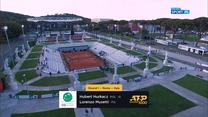 ATP w Rzymie. Hubert Hurkacz - Lorenzo Musetti. Skrót meczu (POLSAT SPORT). Wideo