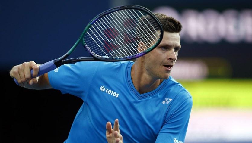 ATP w Wiedniu. Hubert Hurkacz przegrał z Andy Murrayem