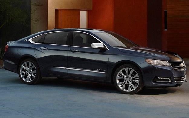 Atrakcyjna stylizacja Impali nawiązuje do nowych Chevroletów - Aveo i Cruze'a. /Chevrolet