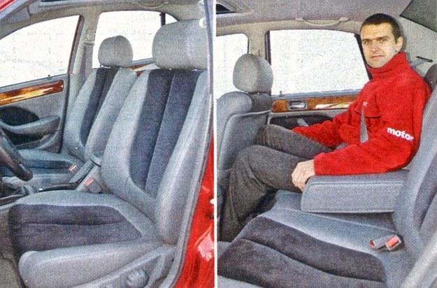 Atutami samochodu są bogate wyposażenie i wysoka jakość tapicerki. Na tylnej kanapie jest całkiem sporo miejsca. /Motor
