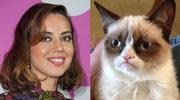 Aubrey Plaza jako Grumpy Cat