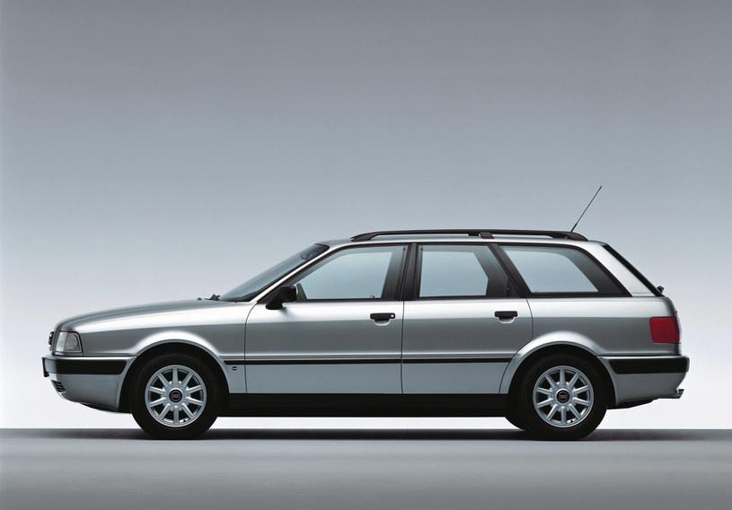 Audi 80 kombi. Dziś takie samochody można spotkać jeszcze głównie na drogach wschodniej Polski /