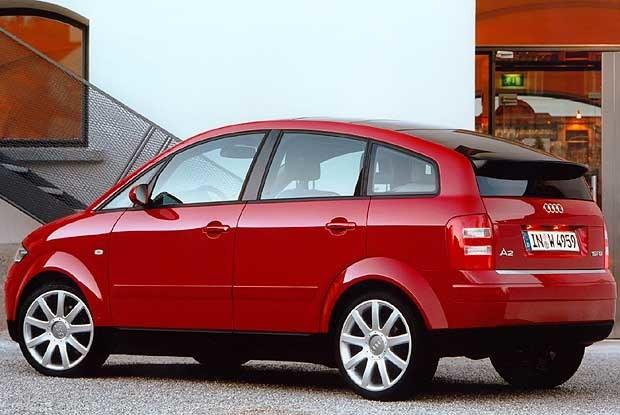 Audi A2 1.6 FSI (kliknij) /INTERIA.PL