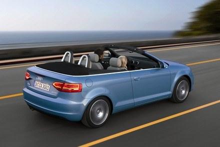 Audi A3 cabriolet / Kliknij /INTERIA.PL