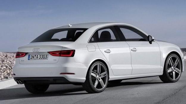 Audi A3 Limousine ma bagażnik o pojemności 425 litrów. /Audi