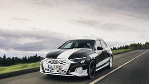 Audi A3 Sportback - pierwsze informacje i zdjęcia w kamuflażu