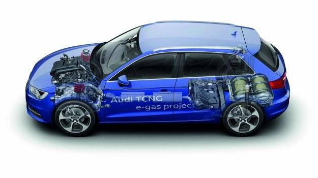 Audi A3 Sportback TCNG /Audi