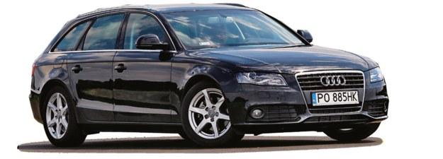 AUDI A4 B8 (2008-2015), polecane wersje: 2.0 TDI CR, 1.8 TFSI. /Motor