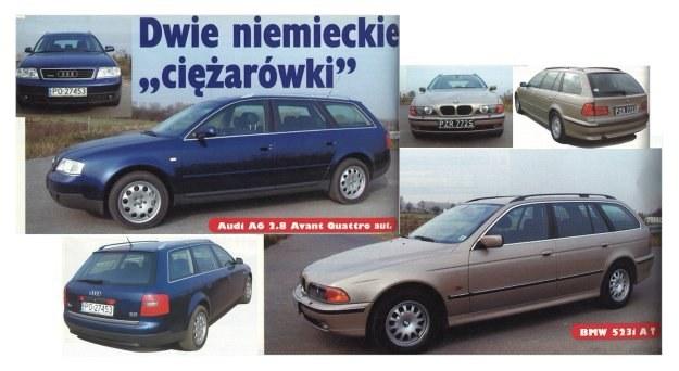 Audi A6, BMW serii 5 /Motor