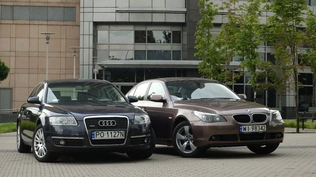 Audi A6 (C6), BMW serii 5 (E60 /Motor