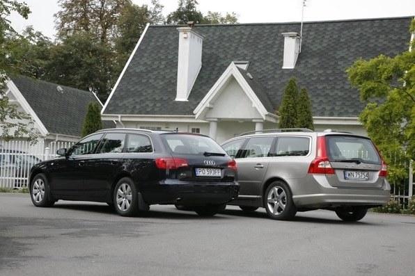 Audi A6 i Volvo V70 /Motor