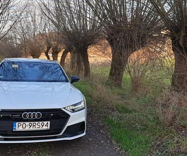 Audi A7 55 TFSI e. Radio Maryja zamiast masażu