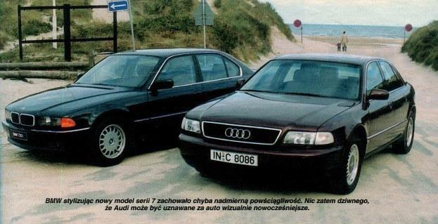 Audi A8 2.8 kontra BMW 730i /Motor