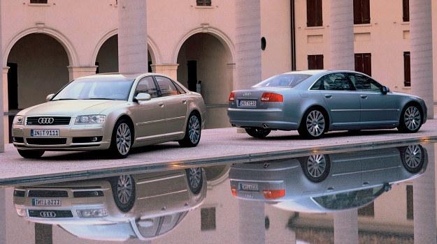 Audi A8 (D3) z początku okresu produkcyjnego (lata 2003-2005) /Audi