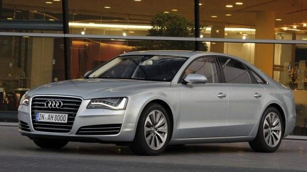 """Audi A8 Hybrid występuje zarówno w wersji """"krótkiej"""", jak i przedłużanej - L. /Audi"""