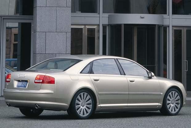 Audi A8L / Kliknij /INTERIA.PL