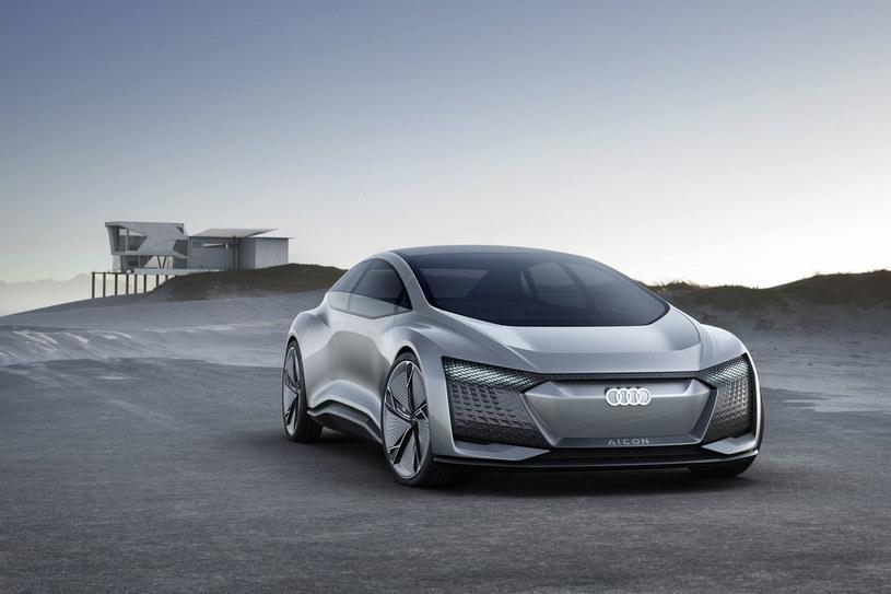 Audi Aicon - wizjonerski pojazd z przyszłości /INTERIA.PL/informacje prasowe