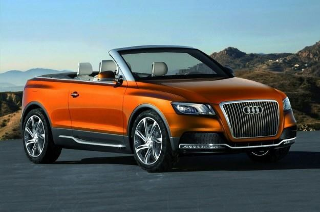 Audi cross cabriolet quattro concept - czy tak będzie wyglądało Q5 kabrio? /