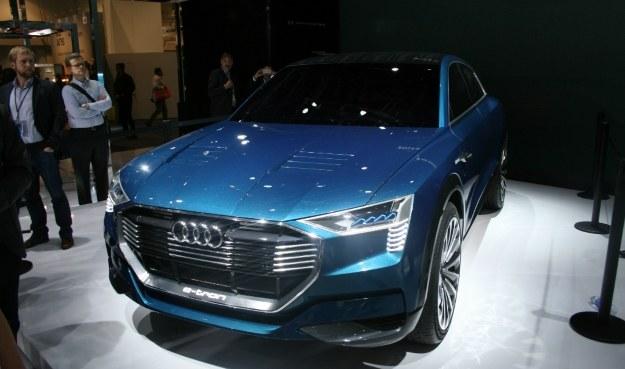 Audi E-Tron Quattro Concept /INTERIA.PL