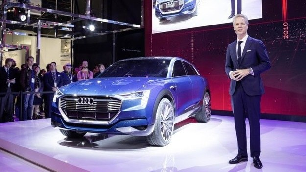 Audi e-tron quattro /AFP