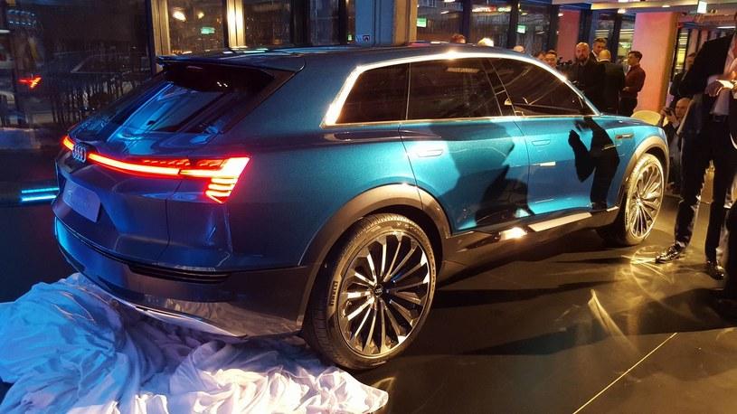 Audi e-tron quattro /INTERIA.PL