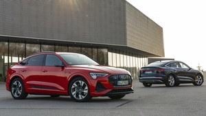 Audi e-tron S już bez kamuflażu
