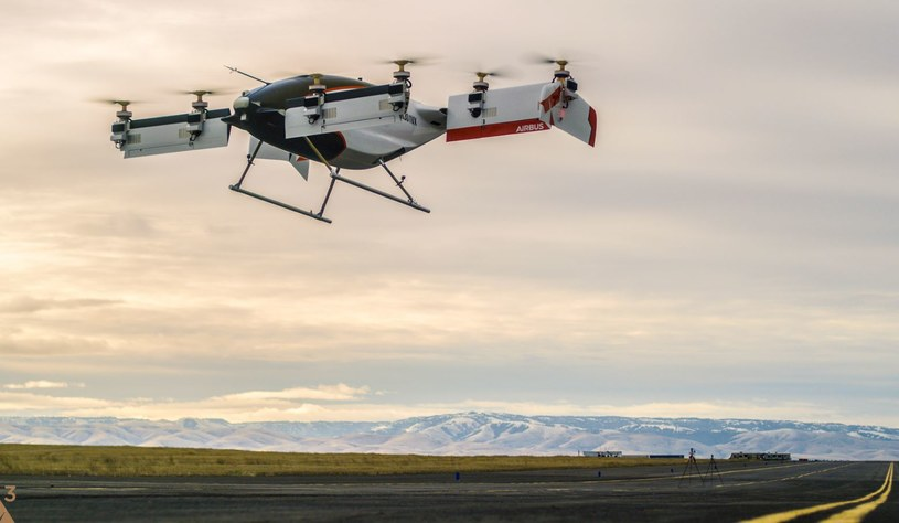Audi i Airbus rozpoczną testy latających taksówek /materiały prasowe