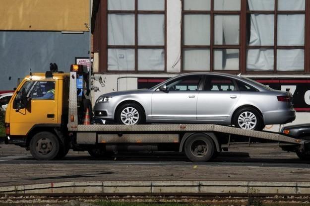 Audi na lawecie to rzadki widok / Fot: Włodzimierz Wasyluk /Reporter