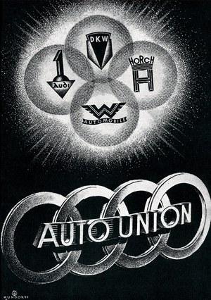 AUDI pożyczone pierścienie /Audi