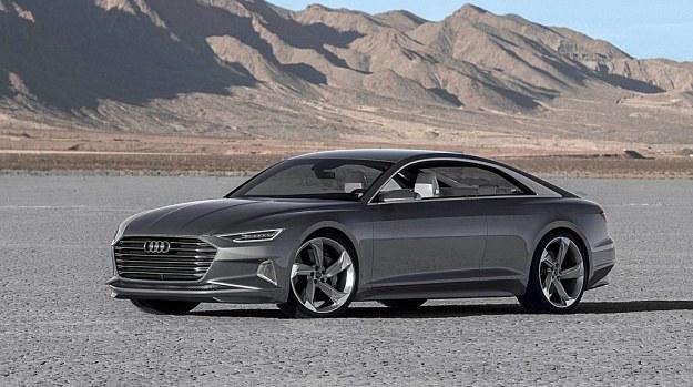 Audi Prologue Piloted Driving - prototyp zaprezentowany na targach CES 2015. /Audi