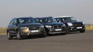 Audi Q3, BMW X1, Mini Countryman - porównanie