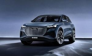 Audi Q4 e-tron concept - elektryczna przyszłość