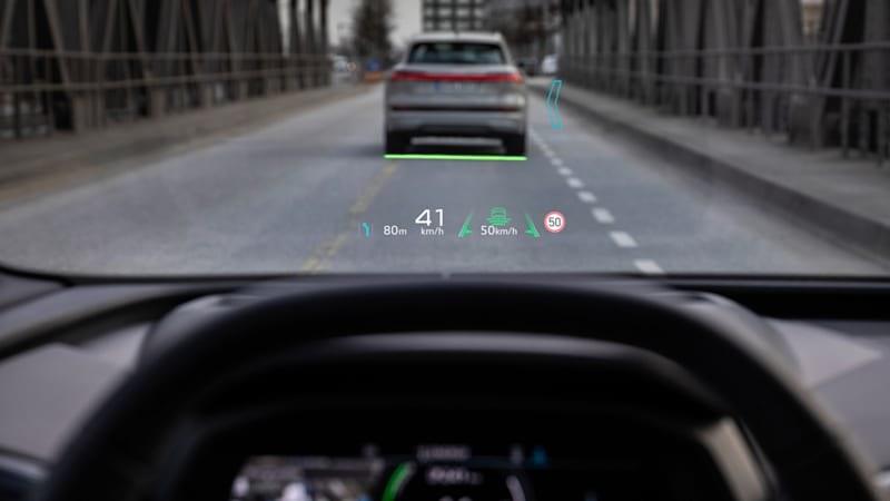 Audi Q4 E-Tron /materiały prasowe